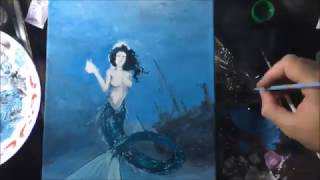 Time-Lapse Artístico - Sereia
