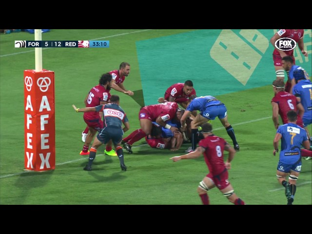 Road Safety Western Force v Queensland Reds Round Two Highlights