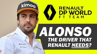 Is Fernando Alonso the driver Renault needs?