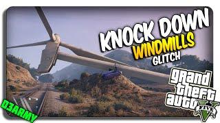 GTA 5 Wind Turbine GLITCH!