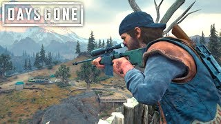 Days Gone - STEALTH SNIPER AND A HORDE | Days Gone Free Roam Gameplay (#38)