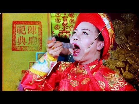 Giá Hầu Triều Trần Khủng, Xiên Lình, Trích Huyết Trừ Tà - Đồng Thầy Anh Phú  xinh xinh