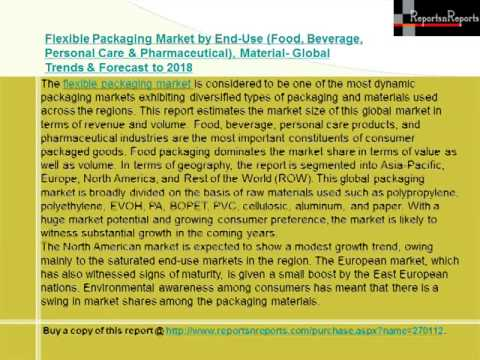 Flexible Packaging Market Forecast to 2018