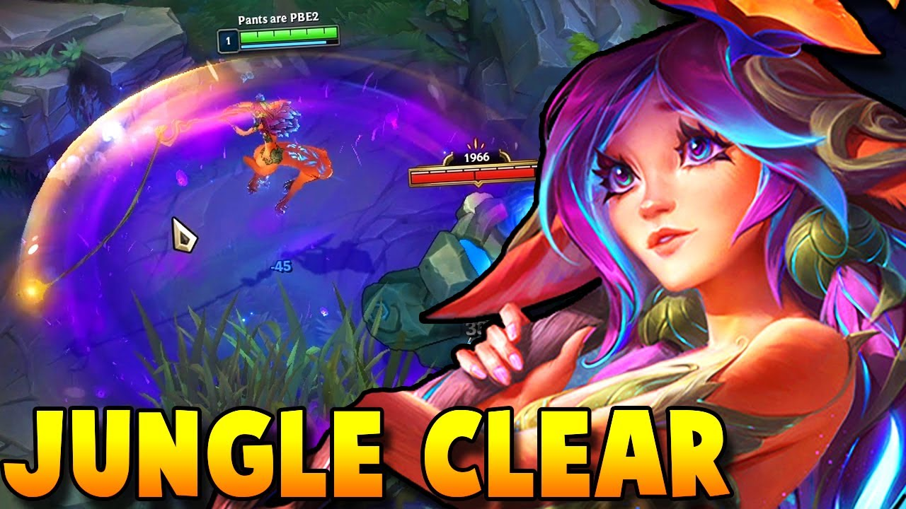 *NEW CHAMP* LILLIA IS FINALLY HERE!! IN-DEPTH LILLIA JUNGLE CLEAR GUIDE - League of Legends