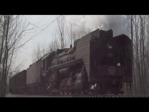 [China Steam Loco QJ]Yanzhou Coal Mining Company Railway QJ6811 兖州の前進型蒸気機関車
