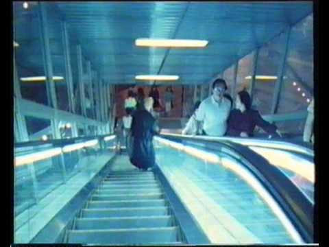 Bowie Endless Escalator Scene