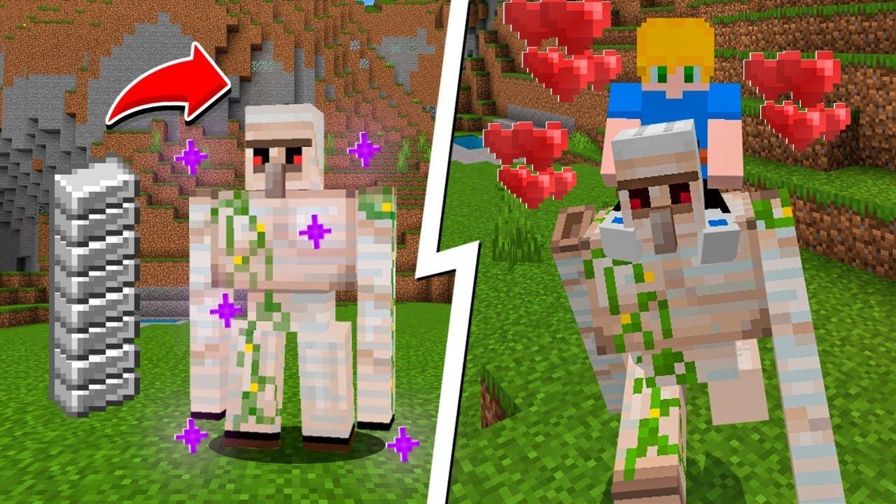 Download DOMESTICAMOS um IRON GOLEM no Minecraft!