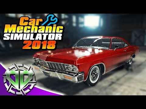 Car Mechanic Simulator 2018 :  New Cars, New Shop, Changing Brakes and Oil! (PC)