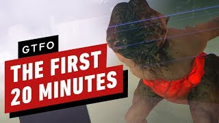 The First 20 Minutes of GTFO Gameplay