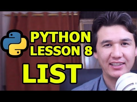 List: Python Programming tutorial for beginners | Urdu Hindi | Lesson 8 thumbnail