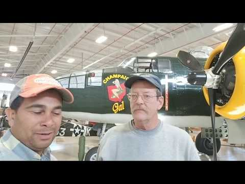 B-25 Champaign Gal Tour