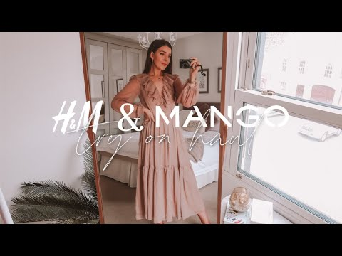 H&M + Mango Unboxing & Try On Haul | June 2020