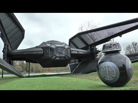 Download Youtube: I Built a FULL SIZE Tie Fighter/Silencer