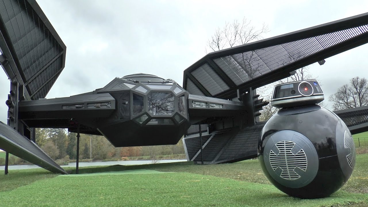 Feuerkorb Star Wars I Built A Full Size Tie Fighter Silencer