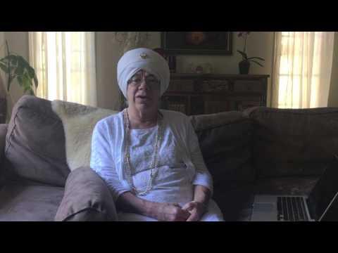 Tej Kaur Khalsa talks about Kundalini Yoga