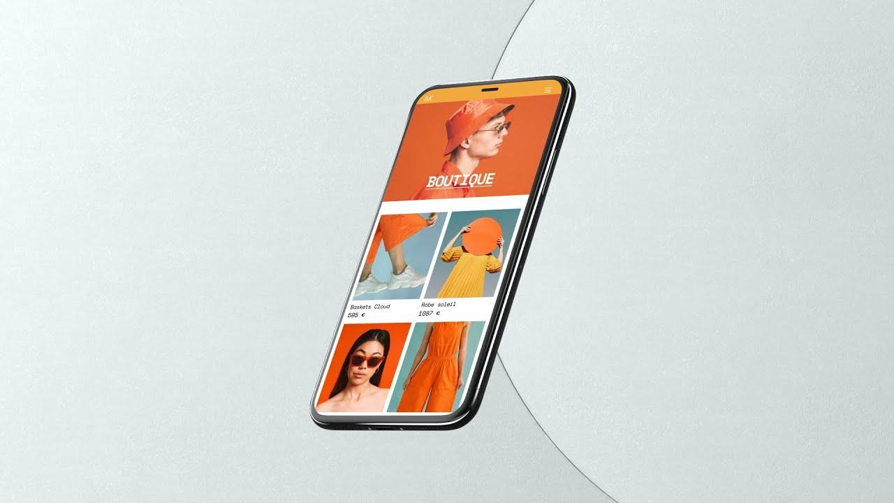 Créez un site internet sur smartphone   Wix.com