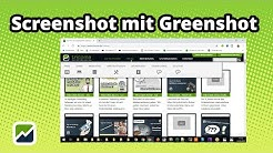 tricoma - Screenshot mit Greenshot - Desktop fotografieren unter Windows