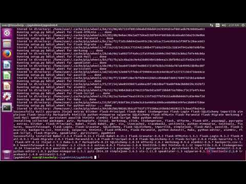 How to install PgAdmin4 on Ubuntu 16 04 - YouTube