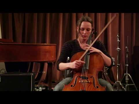 Leila Bordreuil - solo cello - at Firehouse Space, Brooklyn - May 2 2015