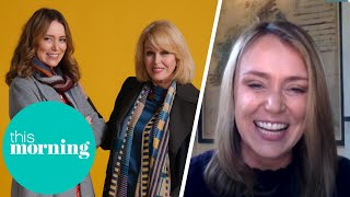 Keeley Hawes Was in Shock Working With Joanna Lumley   This Morning