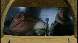 Jabba on the Dais