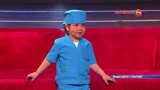 Юный доктор из Нефтекамска на Первом канале.