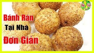 ✅ Tự Làm Bánh Rán Viên Chiêu Đãi Gia Đình Cực Dễ | Hồn Việt Food