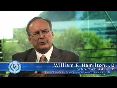 Bryan University - Who Hires e-Discovery Professionals by William F. Hamilton