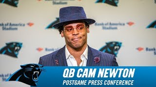 Cam Newton Full Postgame Press Conference
