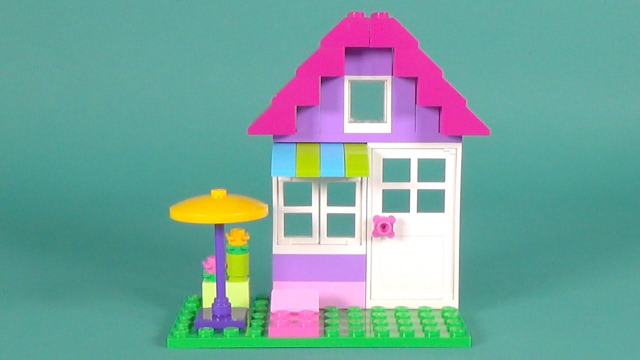 Lego house building instructions lego classic 10697 how for Lego classic house instructions