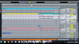 dhol, tumbi, tabla, dhad, algoza, duff & drum kit mixing in ableton live 8 by punjabi synth  1