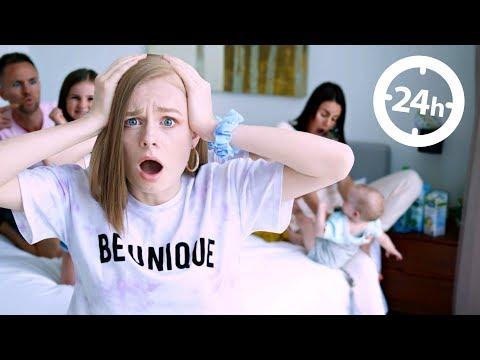 24 HOUR OVERNIGHT in MIA'S BEDROOM Challenge!
