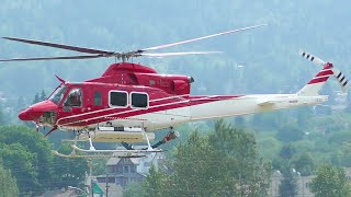 Bell 412SP Engine Startup and Takeoff