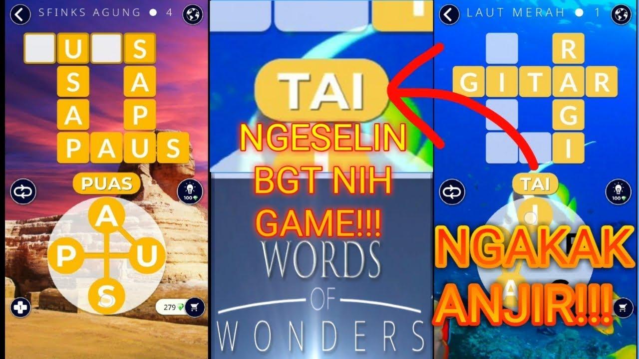 Kunci Jawaban Game Wow Laut Merah Kunci Jawaban Game Wow Jelajah Mesir Giza Sfinks Laut Merah Words Of Wonders Indonesia Youtube Icon Pop Quiz Game Buatan Anak Indonesia Ops Sekolah Kita