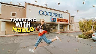 Thrift Shopping with Marla (Goodwill)