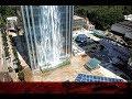 China claims world's biggest man-made waterfall