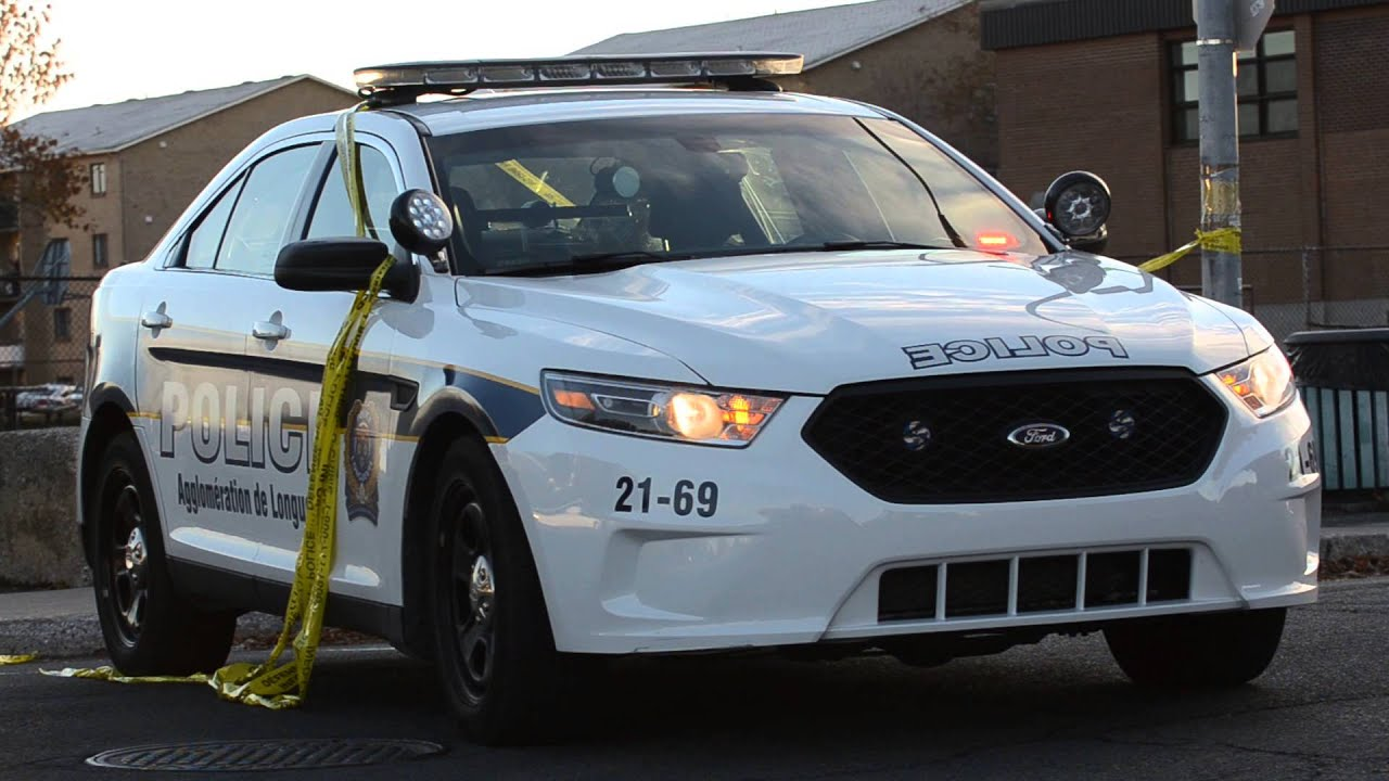 Ford police interceptor sedan fpis 2013 longueuil police