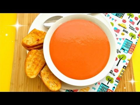 Tomato soup recipe using canned tomatoes