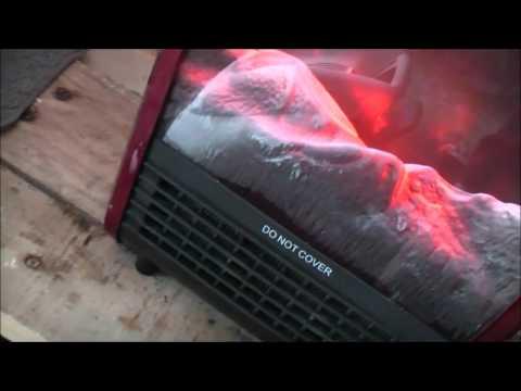 Heatsink Based Fireplace Heater Teardown