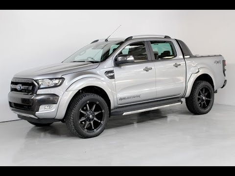 Ford Ranger Wildtrak Facelift With Flares And 20 Alloys