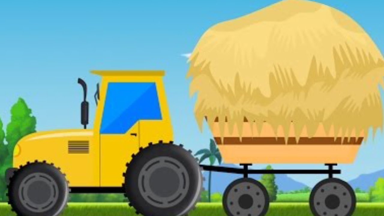 kids tractor videos for children cartoons about cars youtube