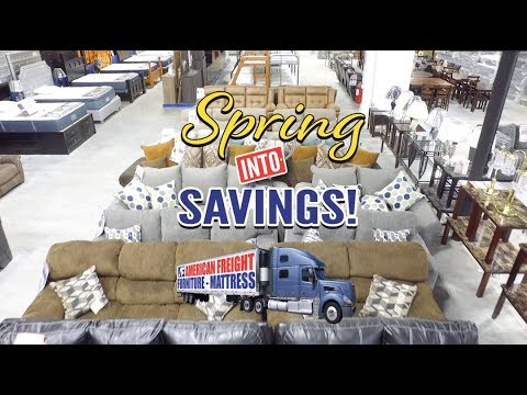 Spring Into Savings | American Freight Furniture And Mattress