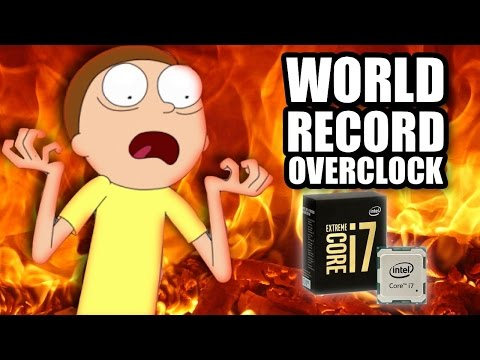 WORLD RECORD - Worlds FASTEST i7 6950x CPU - Extreme Overclocking Live on Stage