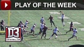 D3football.com Play of the Week: WPI Snags Fake FG