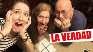 Charlie Charlie Challenge CON MIS PADRES | LA VERDAD!!!