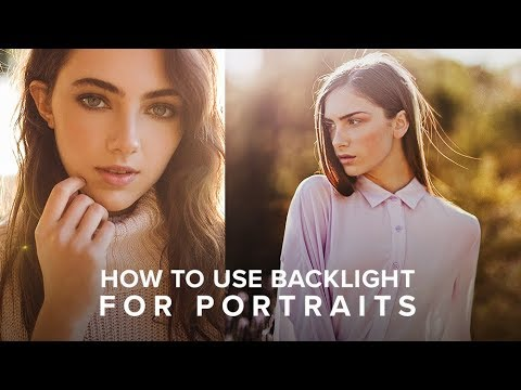 Master Natural Backlight to Improve your Portrait Photography