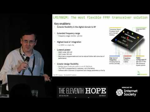 The Eleventh HOPE (2016): Democratizing Wireless Networks with LimeSDR