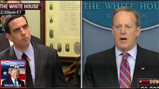 H LL YES! Sean Spicer Said 1 Thing Today To This Reporter That Has Trump Jumping For Joy!