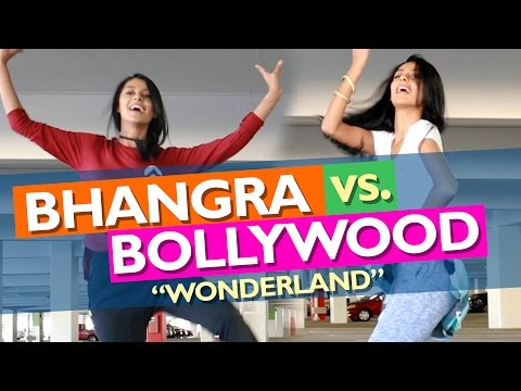 BHANGRA vs. BOLLYWOOD! ('WONDERLAND' - Lakeeran)