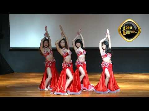 Karyn Troupe Champion - Malaysia World Oriental Dance Arts Festival 2017 (Amateur troupe)